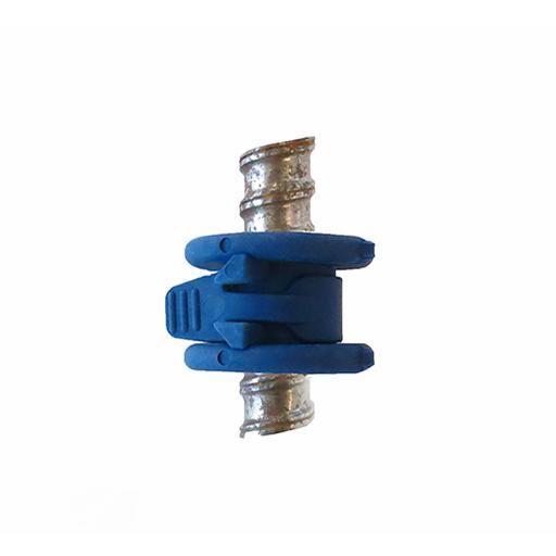 Montaj, pasul 2 - Profil expandabil Conector cu bandă de fixare (pentru etanșarea exteriorului tiranților) se închide cu ajutorul benzii de fixare