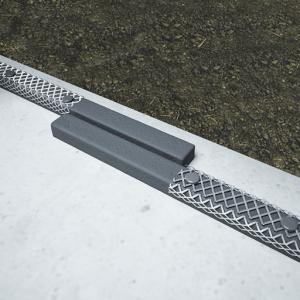 Detaliu de execuție la montaj: Alinierea Bentobar+ la capete de îmbinare, pe o distanță de 10-20cm